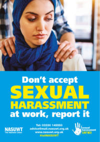 Sexual harassment say no poster 2