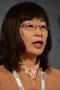 Bak Ok-Ju on behalf of the Korean Teachers' Union, 2015