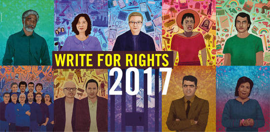 Amnesty Write for Rights 2017 Campaign