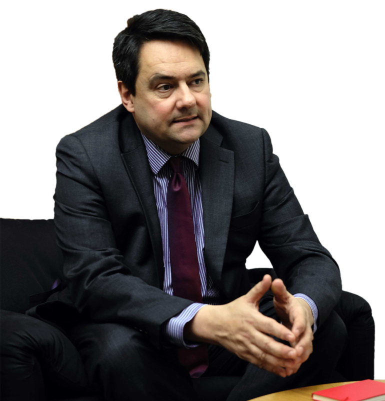 Stephen Twigg, chair of the International Development Select Committee